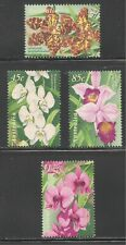 Australia #1681-1684 (A546) VF MNH - 1998 45c to $1.20 Orchids / Flowers
