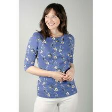 Lily & Me Monica Top - Dandy Blooms Cornflower - 10 12 14 16 18 - BNWT - Was £36