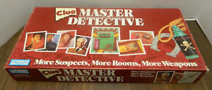 Clue Master Detective Board Game Replacement Parts & Pieces 1988 Parker Bros
