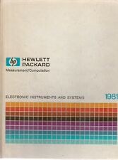HEWLETT PACKARD MEASUREMENT/COMPUTATION 1981-ELECTRONIC INSTRUMENTS & SYSTEMS