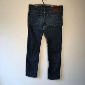 Hugo Boss Delaware 1 Stretch Slim Fit Navy Denim Men's Jeans W34 L32