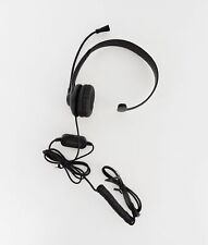 Insignia NS-MCHM25PB 2.5mm Landline Phone Headset