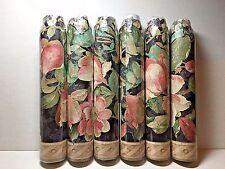 Wall Border VILLAGE Pre-cut Decorative Cut Edge Flower Pattern #580 1980 UK 15'