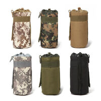 Tactical Military System Water Bottle Bag Kettle Pouch Holder Bag Outdoor RF