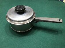 OLD STYLE LIFETIME 2 QT T304 Stainless Steel SAUCE PAN POT W/ LID