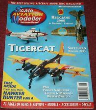 Scale Aviation Modeller Magazine 3.6 Reggiane Re.2000 Scale Plans,F7F Tigercat