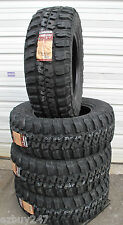 37-12.50-20 114Q Load E Federal Couragia MT New 4 Tires LT37x12.50R20 37125020
