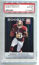 2012 Panini Elite Robert Griffin III /699 PSA 10 GEM MINT Ravens