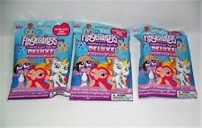 FINGERLINGS DELUXE COLLECTOR CARDS LOT 3 PACKS CARDS STICKERS & MINI FINGERLING