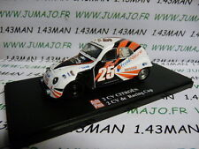 voiture 1/43 ELIGOR Autoplus CITROËN 2CV n°28 Racing Cup