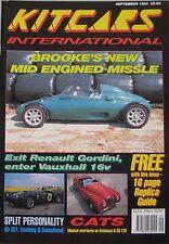 Kitcars International 09/1994 featuring Brooke. Autotune Aristocat, Jago Sandero