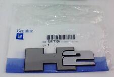 GM# 15771366 2003-2009 HUMMER H2 CHROME DOOR LIFTGATE EMBLEM NAMEPLATE OEM