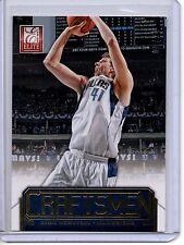 2012-13 Elite GOLD Craftsmen DIRK NOWITZKI /24 Dallas Mavericks
