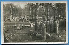 CPA Photo: Mortier de siege de 270 mm Mle 1885, en batterie / Guerre 14-18