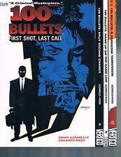 100 Bullets by Brian Azzarello & Eduardo Risso Volumes 1-4 TPBs DC Vertigo Comic