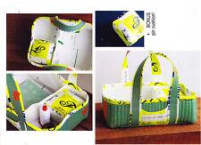 PATTERN - Social Tote - great project basket bag PATTERN Carolyn Friedlander