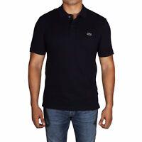Lacoste Polo Shirt Men's Short Sleeve Slim Fit Petit Pique PH4012-51 166 Navy