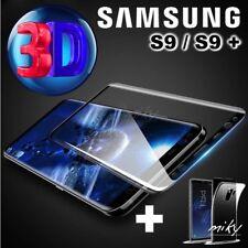 Pellicola Vetro Temperato Curvo Per Samsung Galaxy S9-S9 PLUS proteggi schermo