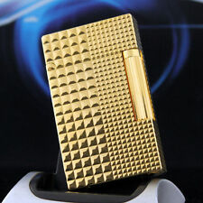 NEW HOT SELL S.T D Memorial lighter Bright Sound ! Gold color lighter