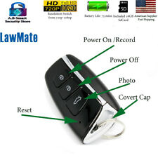 Lawmate Key chain Fob  Hidden Covert Camera New 1080p Full Hd + Audio US STOCK