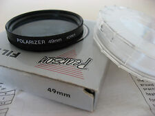 49mm Polarizer filter - in original plastic case + instructions & box - not Hoya