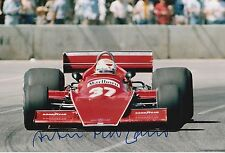 Arturo Merzario Firmato a Mano 12x8 photo formula 1 F1 4.