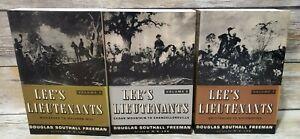 Lee's Lieutenants - 3 Volumes - Douglas Southall Freeman - Paperback