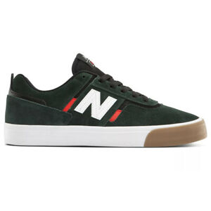 """New Balance # Numeric """"306"""" Sneakers (Dark Green/Red) Men's Skating Shoes"""