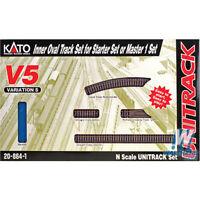 Kato 208641 Inner Oval Unitrack V5 - Inside Loop Track Set N Scale