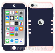 For Apple iPod Touch iTouch 5|6 KoolKase Hybrid Silicone Cover Case - NAVY BLUE