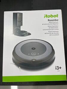iRobot Roomba i3+ (3550) Robot Vacuum with Automatic Dirt Disposal Disposal New!