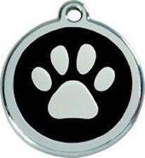 Red Dingo Médaille pour Chien Patte Noir 38 mm