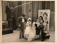"""""""On Air""""-MARY HARTLINE SHOW, TV Guide Prop, Personalized Autograph. ORIGINAL!"""