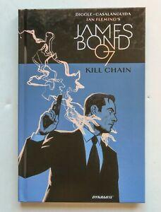 Ian Fleming's James Bond In Kill Chain HC Dynamite Graphic Novel Comic Book
