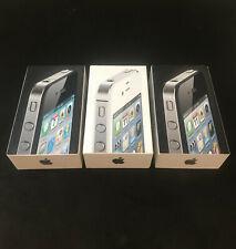 Lot de 3 Boites Rangement  iPhone 4/4S + Manuel Notice Empty Box for Iphone ++