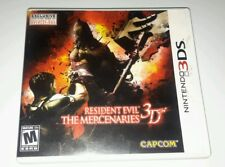 Resident Evil: The Mercenaries 3D (Nintendo 3DS, 2011) Complete! FREE SHIPPING!