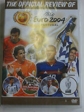 Euro 2004 - UEFA Football Fussball Official Review  - DVD NEU