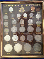 1901-1988 US Twentieth Century Type Coins collection 29 coins 14 silver E4769