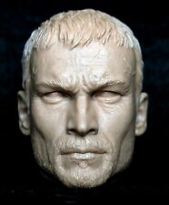 1/6 scale unpainted figure head sculpt Andy Whitfield spartacus aci warrior did