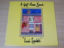 EX/EX- !! Geoff Mann Band/Loud Symbols/1990 Food For Thought Records LP