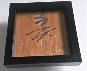 MARC GASOL Toronto Raptors Basketball Signed + Framed Floor B