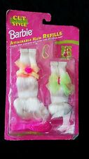 Mattel Cut And Style Barbie Doll Blonde Attachable Hair Refills #13069-NEW