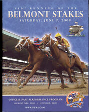 2008 Big Brown Belmont Stakes Horse Racing PROGRAM