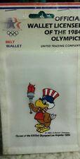 OLYMPICS 1984 Los Angeles Wallet ☆ Sam the Eagle ☆ Sealed ☆ New