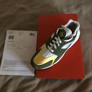 Stüssy X Nike Huarache Olive LE 2021 US 11
