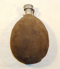 VINTAGE ALUMINUM CANTEEN WITH FELT COVER UNISSUED