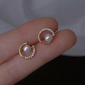 925 Silver Lightning Flower Zircon Earrings Ear Stud Women Charm Jewelry Gifts