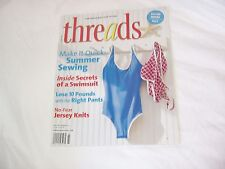 THREADS July  2007 # 131 MAGAZINE sewing back issue