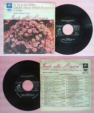 LP 45 7'' J.S.BACH In te e'la gioia Corale della veglia di natale 9 no cd mc vhs