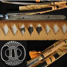 1060 Carbon Steel Katana Japanese Samurai Sword Handmade Full Tang Sharp Blade